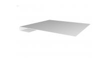 Металлические доборные элементы для фасада в Алексин Планка завершающая простая 65мм
