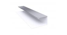 Металлические доборные элементы для фасада в Алексин Планка П-образная/завершающая сложная 20х30