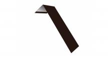 Металлические доборные элементы для фасада в Алексин Планка лобовая/околооконная простая 190х50